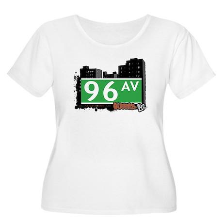 96 AVENUE, QUEENS, NYC Women's Plus Size Scoop Nec