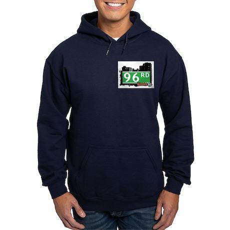 96 ROAD, QUEENS, NYC Hoodie (dark)