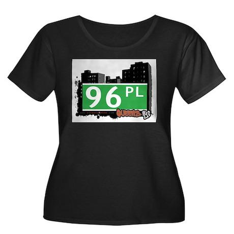 96 PLACE, QUEENS, NYC Women's Plus Size Scoop Neck
