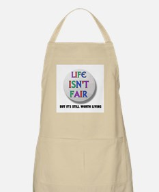 LIFE IS NEVER FAIR BBQ Apron
