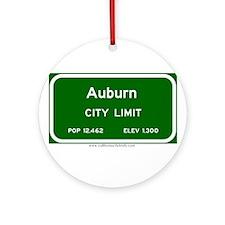 Auburn Ornament (Round)