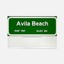 Avila Beach Rectangle Magnet
