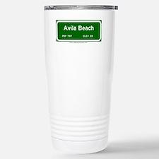 Avila Beach Stainless Steel Travel Mug