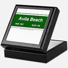 Avila Beach Keepsake Box