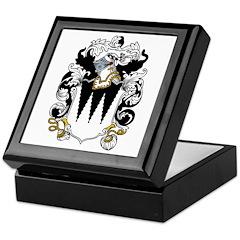 Cade Coat of Arms Keepsake Box