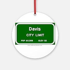 Davis Ornament (Round)