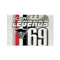 1969 Musclecars Rectangle Magnet (10 pack)