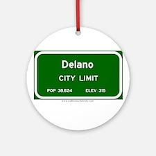 Delano Ornament (Round)