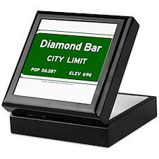 Diamond Bar Keepsake Box