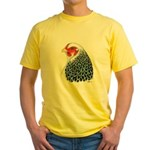 Brahma Head Yellow T-Shirt