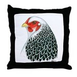 Brahma Head Throw Pillow