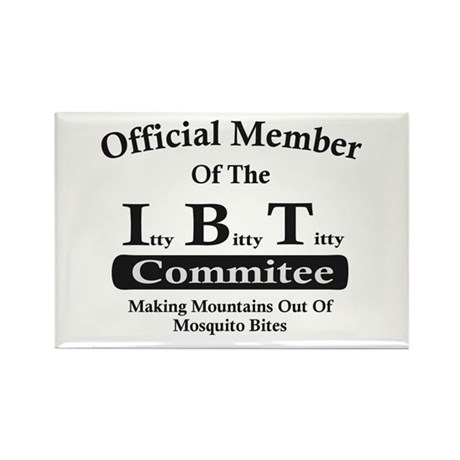 Itty Bitty Titty Commitee Magnet (10 pack)