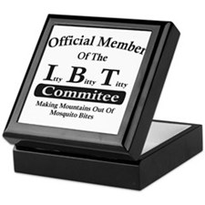 Itty Bitty Titty Commitee Keepsake Box