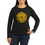 Brick Wall II Women's Long Sleeve Dark T-Shirt