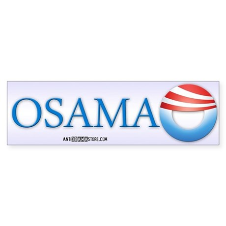 OSAMA Bumper Sticker