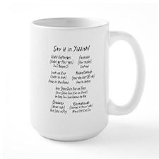 Say it in Yiddish! Mug