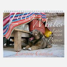 Litter Mates Wall Calendar
