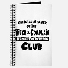 Bitch and Complain Journal