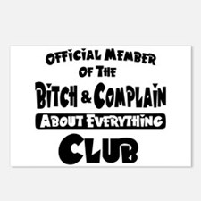 Bitch and Complain Postcards (Package of 8)