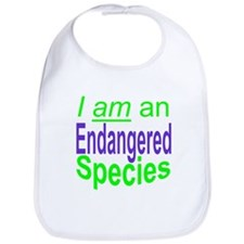 Funny Endangered Bib