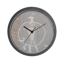 Petroglyph Wall Clock