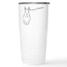 bunny whisperer Thermos Mug
