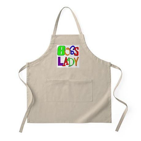 Boss Lady BBQ Apron