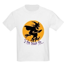 """If the broom fits"" flying wi T-Shirt"