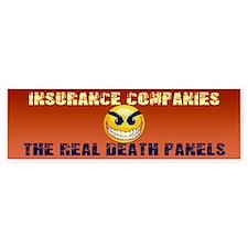 Healthcare Death Panels Bumper Bumper Sticker