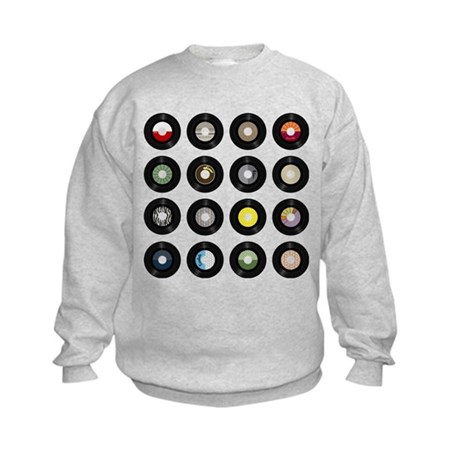 Records Kids Sweatshirt