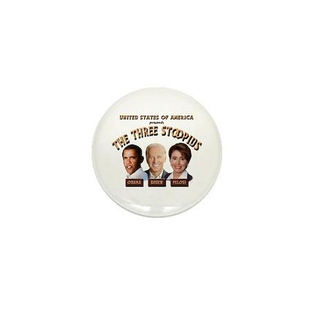 The Three Stoopids Mini Button