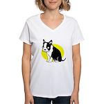 Blinky Women's V-Neck T-Shirt