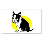 Blinky Rectangle Sticker 10 pk)