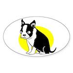 Blinky Oval Sticker (10 pk)