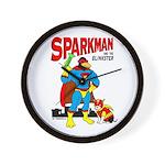 Sparkman & Blinkster Wall Clock