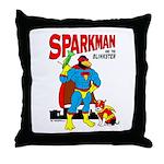 Sparkman & Blinkster Throw Pillow