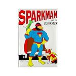 Sparkman & Blinkster Rectangle Magnet (10 pack