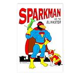 Sparkman & Blinkster Postcards (Package of 8)