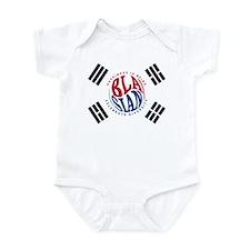Blasians Taegeuk Flag 1 Infant Bodysuit