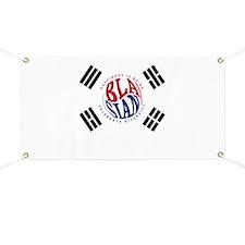 Blasians Taegeuk Flag 1 Banner