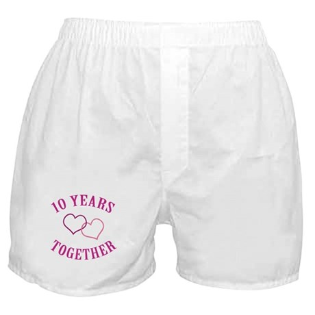 10th Anniversary Two Hearts Boxer Shorts