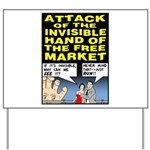 Invisible Hand Yard Sign