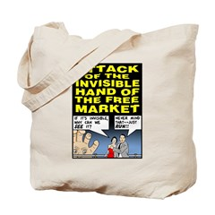 Invisible Hand Tote Bag