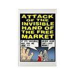 Invisible Hand Rectangle Magnet (10 pack)