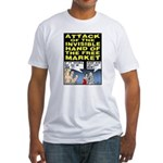 Invisible Hand Fitted T-Shirt