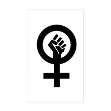 Feminism Now Rectangle Decal