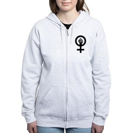 Feminism Now Women's Zip Hoodie