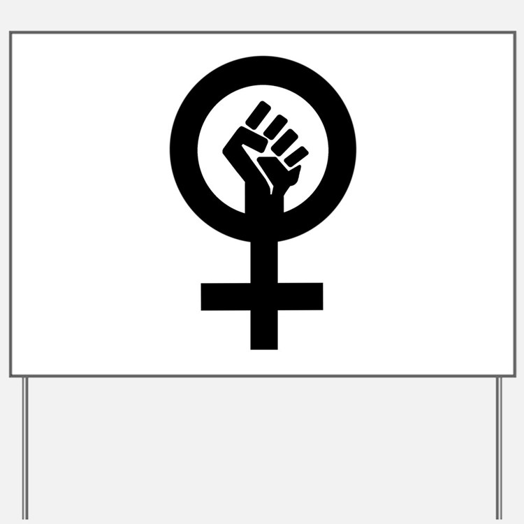 Feminism Now Yard Sign