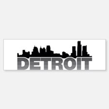 Detroit Skyline Bumper Bumper Bumper Sticker