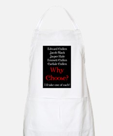 Why Choose? Red BBQ Apron